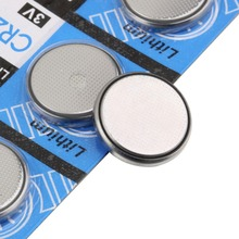 5pcs/Lot CR2032 3V Cell Battery Button Battery Coin Battery cr 2032 lithium battery For Watches clocks calculators(China (Mainland))