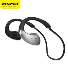 Awei A885BL Wireless Sports Headphone Bluetooth Stereo Music Earphone Handsfree Headset With Mic &NFC(China (Mainland))