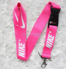 Free shipping Hot 20pcs pink  sport  Lanyard for MP3/4 cell phone key DS lite WHOLESALE(China (Mainland))