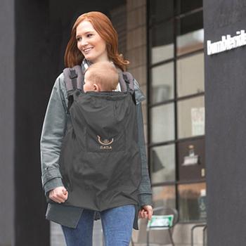Baby Carrier Cloak Mantle Cover Waterproof Baby Backpack Carrier Cover / Baby Rainproof Cloak Windproof Suspender Thin Summer