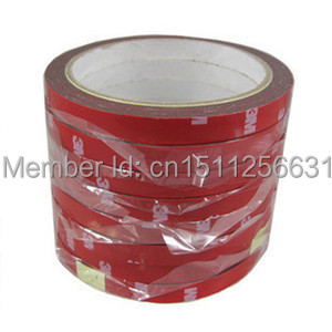 Free Shipping 3M Car Auto Truck High Strength Double Sided Foam Attachment Adhesive Tape A1263 JfOD(China (Mainland))