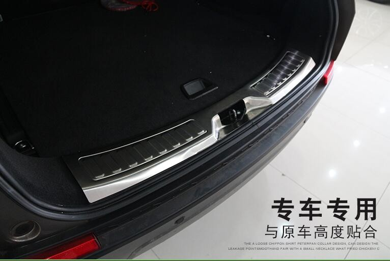 rear bumper guard trim for Land Rover Discovery Sport 2015 car styling  (3)