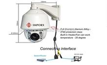 2.0 megapixels 20X Optional auto tracking ptz camera cctv security surveillance system