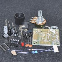 DIY Электронные Комплект LM386 Супер Мини Аудио Усилитель DIY Kit Набор Trousse Amplificador LM386 Модуль Доска 3.5 мм 3-12 В Распаян(China (Mainland))
