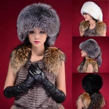 Fashion Warm Winter Tail Beanie Beret Cap Women Faux Fur Ear Earflap Hat(China (Mainland))