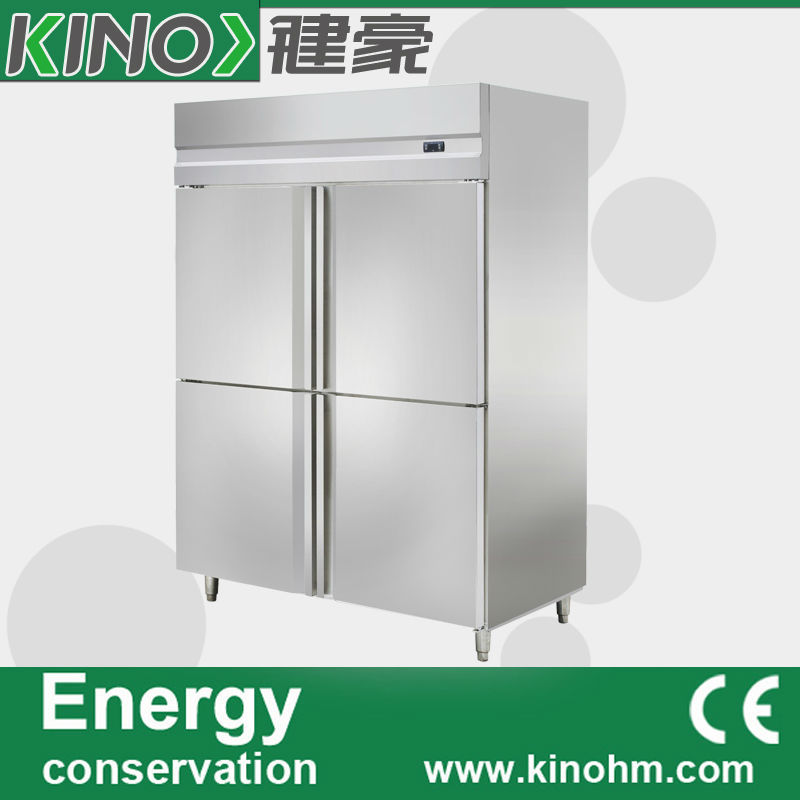 China factory direct sale,four doors,Stainless Steel kitchen freezer,commercial freezer,freezer refrigerator,fridge(China (Mainland))