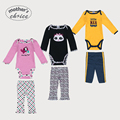 Guarantee Mother s Choice brand 2 in one Baby long sleeve rompers set baby jumpsuit and
