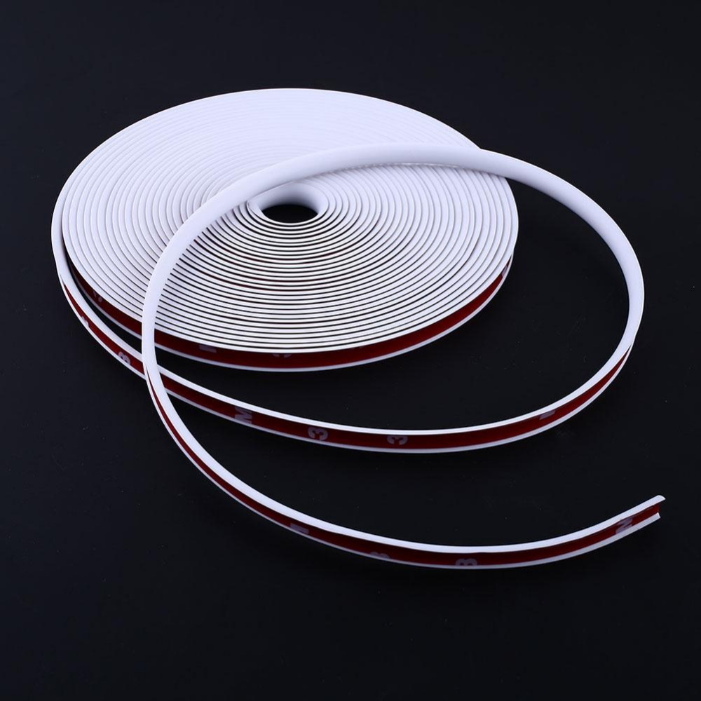 Car Vehicle Wheel Rim Protector Tire 8M Guard Line Rubber Moulding Flexible Heatproof Tuning car styling<br><br>Aliexpress