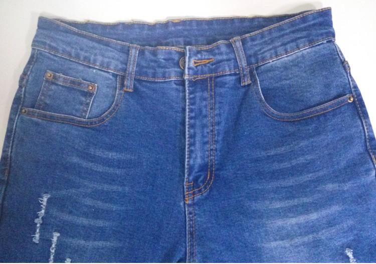 Скидки на 2016 Весной Новый Карандаш Джинсы Женщины Женщины Тощий Мода Светло-Синий Мягкий Хлопок Стрейч Джинсовые Брюки Джинсы Для Женщин Одежда