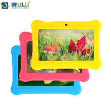 "iRULU eXpro Y2 7"" 1024*600 HD Tablet for kids Children Google GMS Test Android 4.4 Quad Core 8GB ROM Dual Camera WIFI Tablet Hot(China (Mainland))"