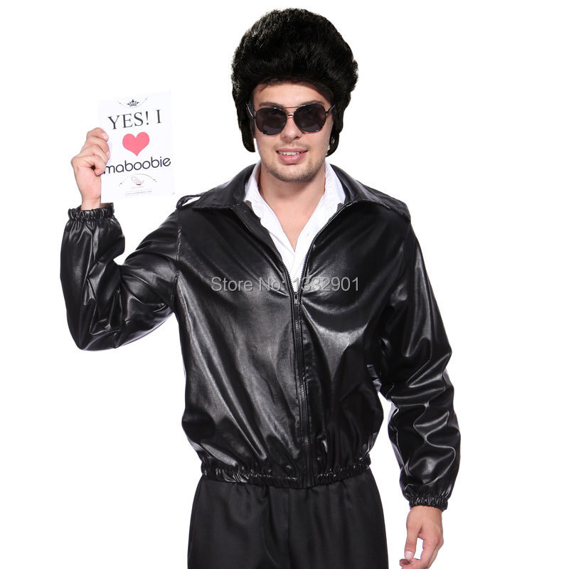 Black bird costume for men