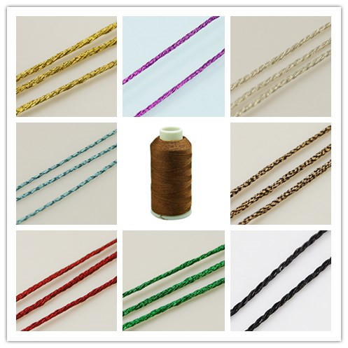 180m/roll 1mm Background Metallic Cord Golden/Green/Chocolate/Colorful Color cord wire diy jewerly crafting findings(China (Mainland))