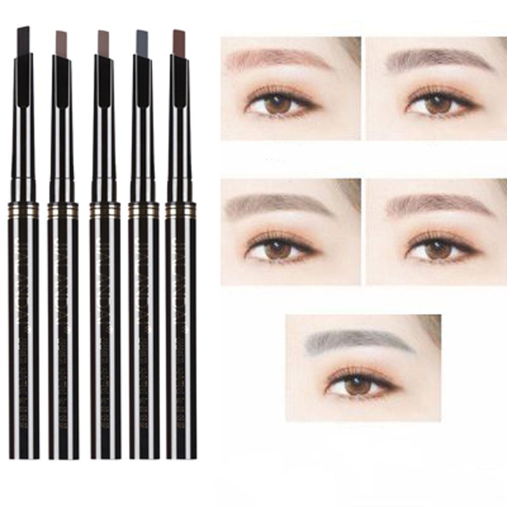 2016 Fashion Single Headed Rotary Automatic Eyebrow Pen Waterproof Long Lasting Makeup Pencil Rotating Design Style Cosmetics(China (Mainland))