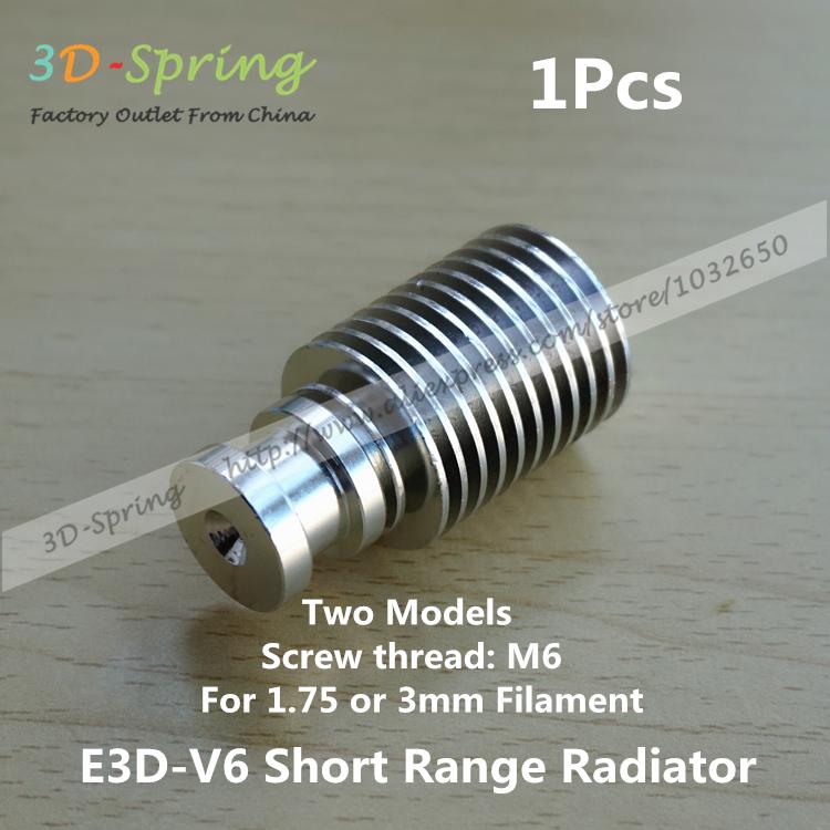 E3DV6 Extruder Radiator For E3D V6 Short Range All-Metal Short Distance Heat Sink Close Pipe For 3mm Feeding For 3D Printer<br><br>Aliexpress