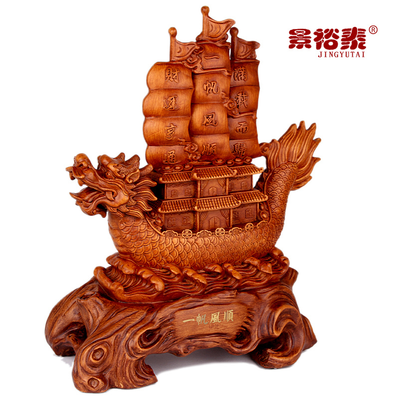 Smooth sailing ornaments office desktop home decorations crafts shop opened Lucky Gift(China (Mainland))