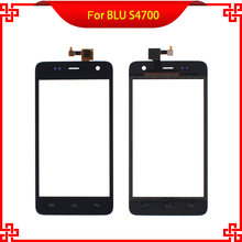Black Touch Screen Digitizer 4.5 Inch For BLU LS4700 4700 Mobile Phone Touch Panel with Black Color Free Tools