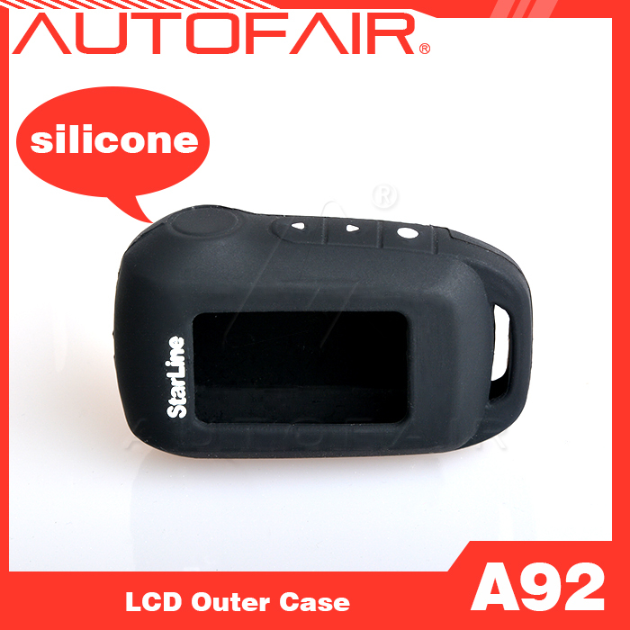 On sale Free shipping Starline A92 silicone case for Starline A92/A94/A62/A64/V62 LCD remote two way car alarm system A92 LCD(China (Mainland))