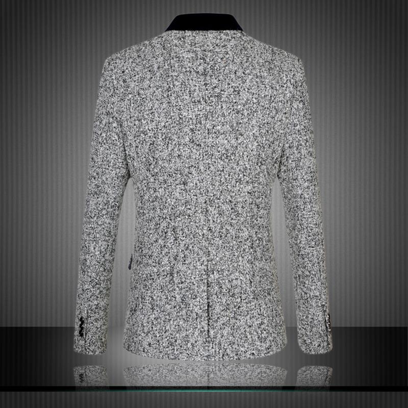 Men Tuxedos Blazers Plus Size M-6XL 2015 New arrival Brand High Quality Business Dress Vintage Casual Slim Fashion Suit Jacket
