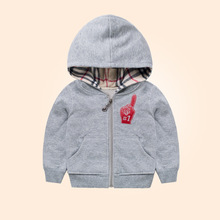 Autumn Childrens boys Hoodies Sweatshirts Cotton hooded solid coat casual spring Autumn kids girls boys hoodies and sweatshirts(China (Mainland))