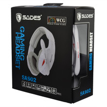 Original Sades SA-902 7.1 Surround Sound Effect USB Gaming Stereo Headset Headphone with Mic(China (Mainland))