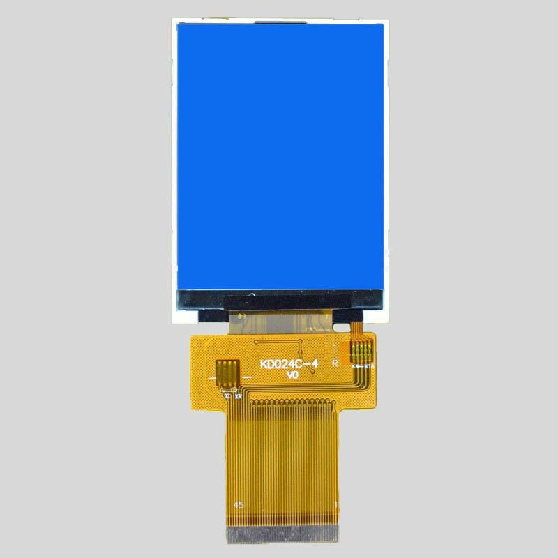 "2.4"" inch 240*320, ST7789V 8/9/16/18 bit MCU, 3/4 wire SPI, 16/18 bit RGB interface TFT LCD module Display Module Screen Panel(China (Mainland))"