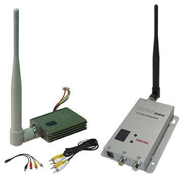 1.2Ghz FPV Wireless Video Transmitter 8CHs CCTV Video Transmitter and Receiver 400~800m Transmitter Distance Video Sender(China (Mainland))