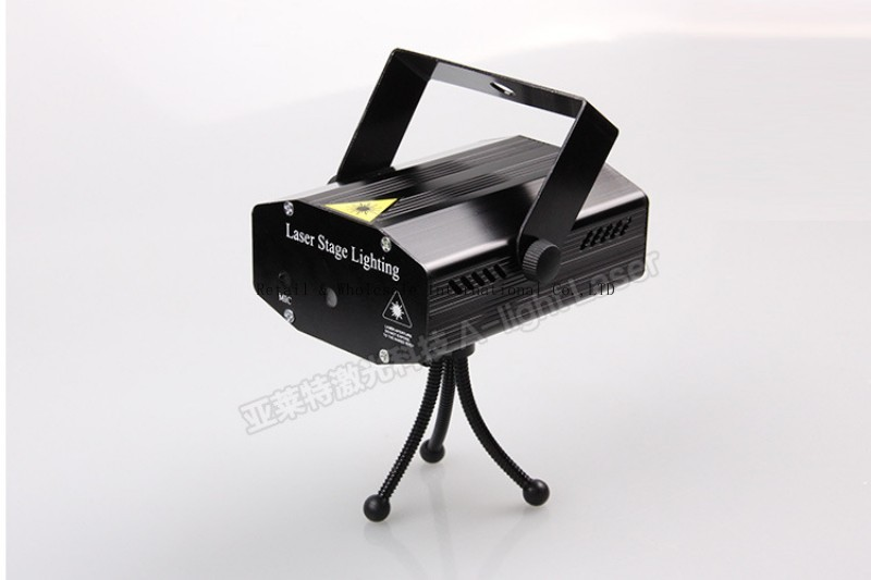 Tinhofire A-01 LED Stage Light Lamp R&G Laser Projector Stage Lighting Sound Control DJ Disco Party Club KTV lights