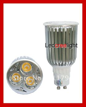 8 Pcs/ Lot led lamps manufacturer led GU10 12W(CREE LED, Dimmable) save 90% energy High power bulbs halogen lights
