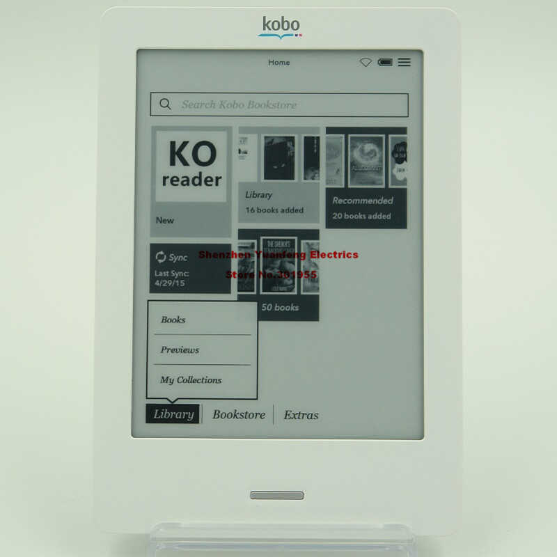 eReader KOBO Touch N905 N905C e-ink Touch screen 6 inch WiFi 2GB electronic e Book Reader