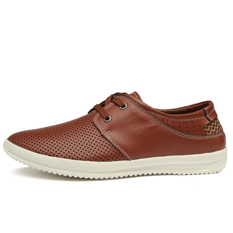 2015 New Casual Men Genuine Leather Derby Shoes Good Quality Flat Shoes Men's Lace-Up Fashion Men Shoe 38-44, 5508(China (Mainland))