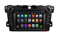 1024x600 Quad Core Android 4 4 Car DVD Player for MAZDA CX 7 with GPS Radio