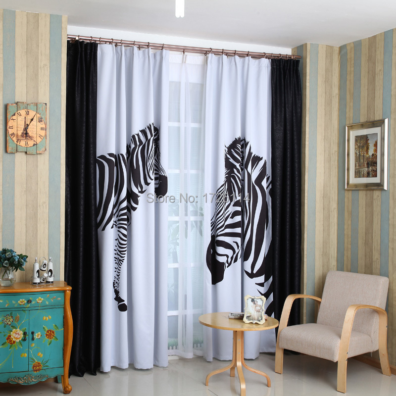Black and white striped curtains living room Black and white striped curtains