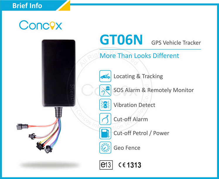 Worlds Smallest GPS Tracking Device GT06N for Car Realtime Tracking(China (Mainland))