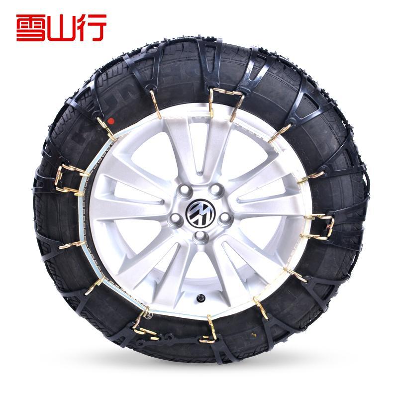 Автомобильная шина цепь снег зимой шины имитация слайдер. путешествия безопасный, зимние шины для автомобиля модель является полным 1 шт.