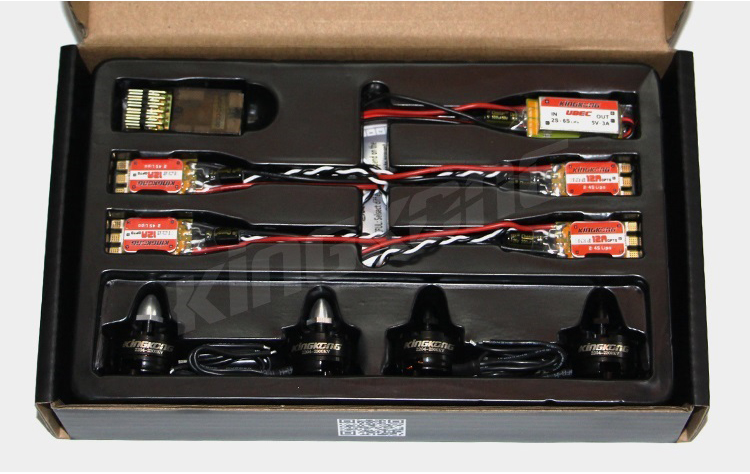 Newest KingKong FORCE 200 Quadcopter Power Suit Combo 2204 Brushless Motor+Mini CC3D+BLHELI 12A ESC+2-6s 5V 3A UBEC+Propeller<br><br>Aliexpress