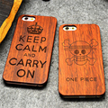 Retro PC Wood Skull Case for iPhone 6 Plus 5 5 Novelty Vintage Case Cover for
