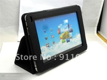 Free Shipping 3 Color Leather Case Cover With Stand For Huawei MediaPad 7 Inch Tablets