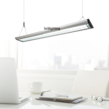 Hanging office Lighting Aluminum Grille Comercial light T5 Fluorescent Industrial lights contemporary office pendant lightings(China (Mainland))