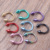 Cone Eyebrow 100pcs/lot 316L Surgical Steel 8 different Colours Horseshoe Circular Ring Labret  Hoops Nose Body Piercing Jewelry