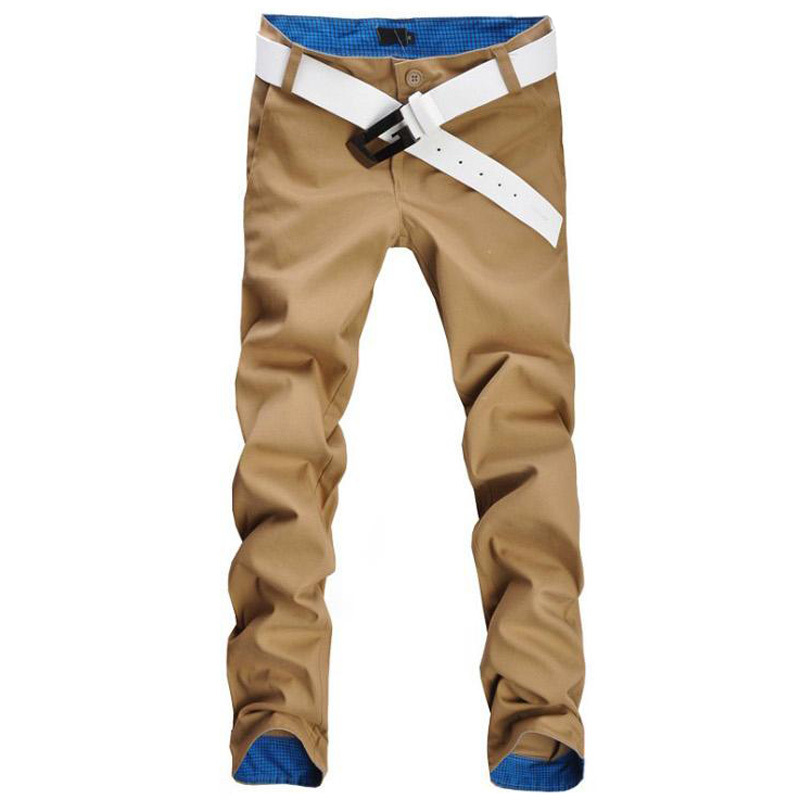 Free shipping! Hot sale men pants fashion casual pants men new design high quality cotton mens pants 12 colors size 28~36(China (Mainland))