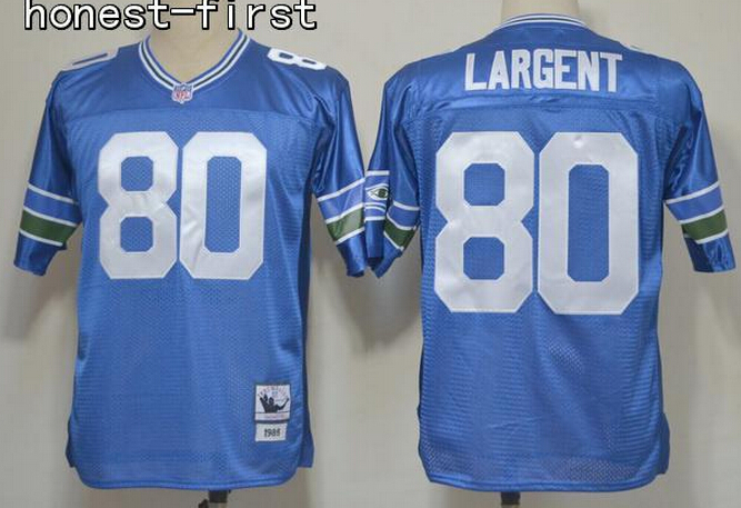 AA,Seattle Seahawks,Steve Largent,Throwback for men(China (Mainland))