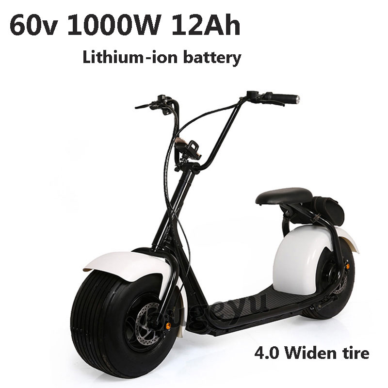 Harley Electric Motorcycle Car Scooters Bike 60V 1000W Motorcycle Lithium Battery moto eletrica elektrikli motosiklet e-bike(China (Mainland))