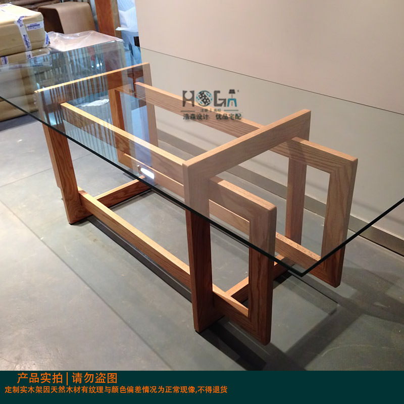 Furniture design picture more detailed picture about for Wooden glass dining table designs