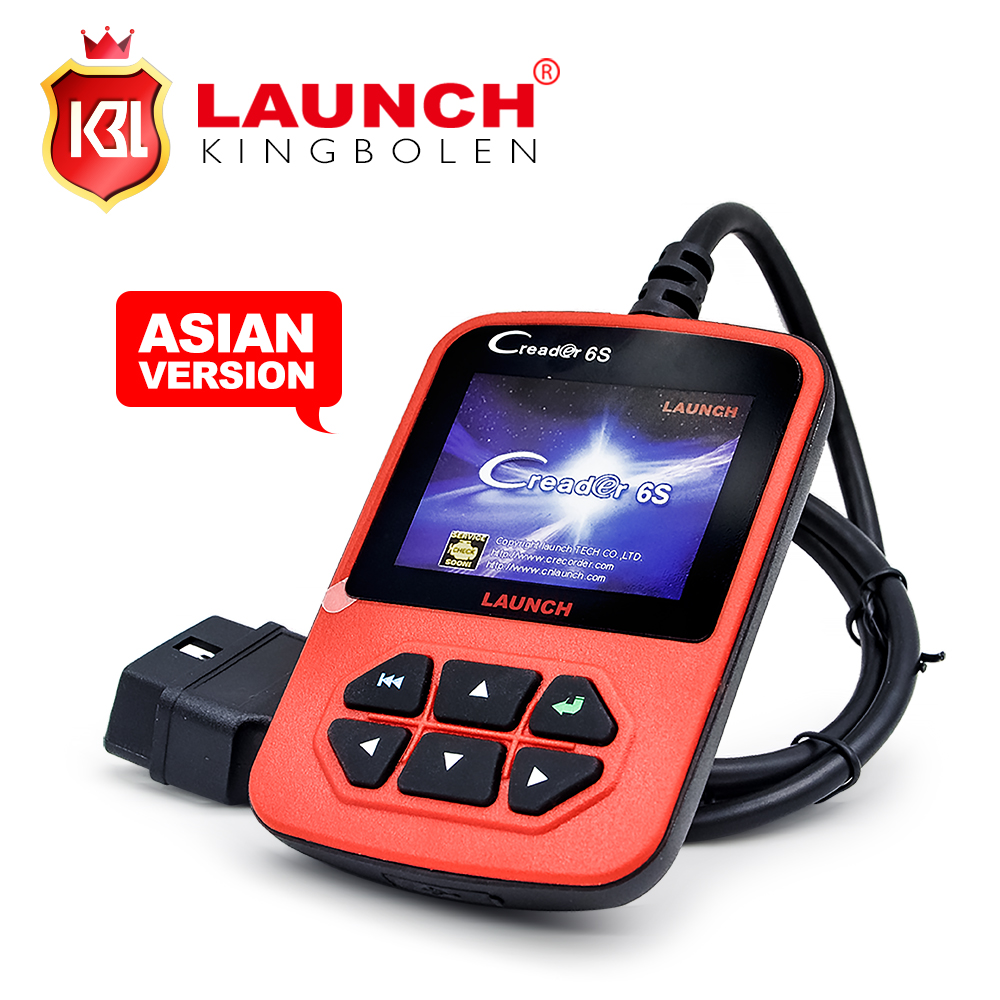 2016 Free Shipping Original Launch X431 CReader 6S Code Reader Update On Official Website Launch CReader VI Plus(China (Mainland))