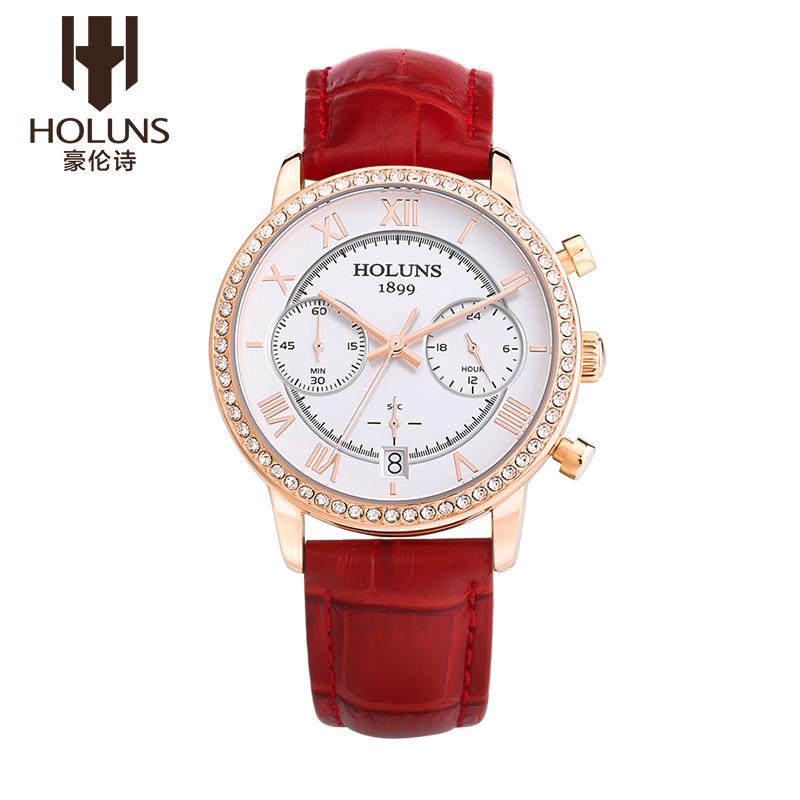 2016 Hot Sale new HOLUNS watch women womens diamond-studded watch fashion strap waterproof quartz female ladies watch<br><br>Aliexpress