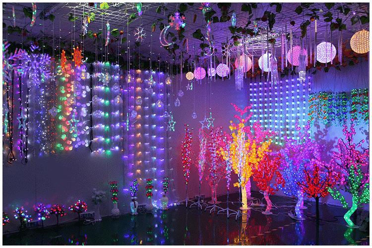 Outdoor 40mm Big Size Ball Led String Light 220V/110V 5M 20leds Fairy christmas tree Decoration ...