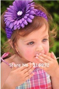 G4 12cm Daisy Flowers,50pcs/bag ,in stock.artificial flower for pretty girl,comes with hair band