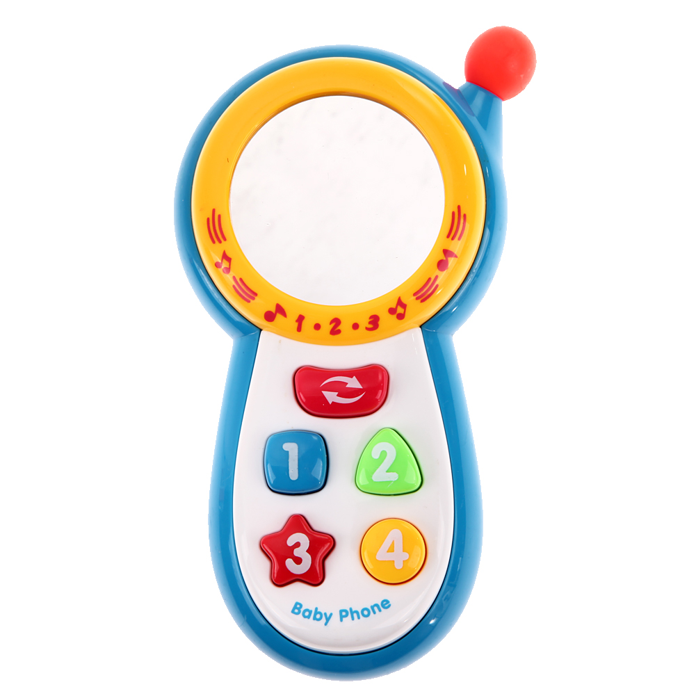 Baby kids Learning Study Musical Sound Cell Phone Children Educational Toys mobile phones learning toy(China (Mainland))