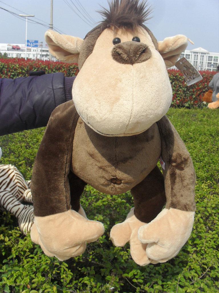 stuffed animal plush 80cm jungle monkey plush toy soft doll throw pillow gift w2915<br><br>Aliexpress