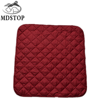 mdstop solid color soft comfort seat mat lumbar pillow office chair seat cushion bolster buttocks tie on pad for dog cat pets - Office Chair Seat Cushion